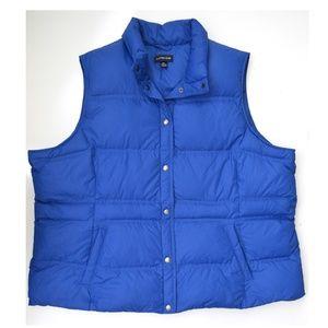 Lands' End Down Puffer Vest size 3X  24w-26w